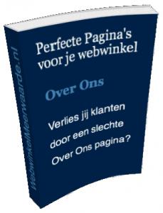 Whitepaper - Perfecte Over Ons pagina - WebwinkelMeerwaarde.nl