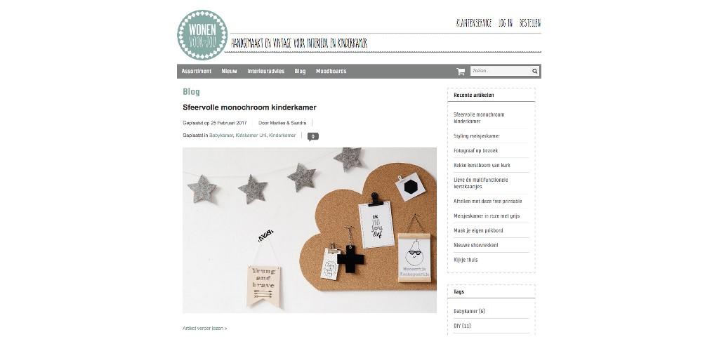 Leuke Webwinkel Blogs: Wonen voor jou - WebwinkelMeerwaarde.nl