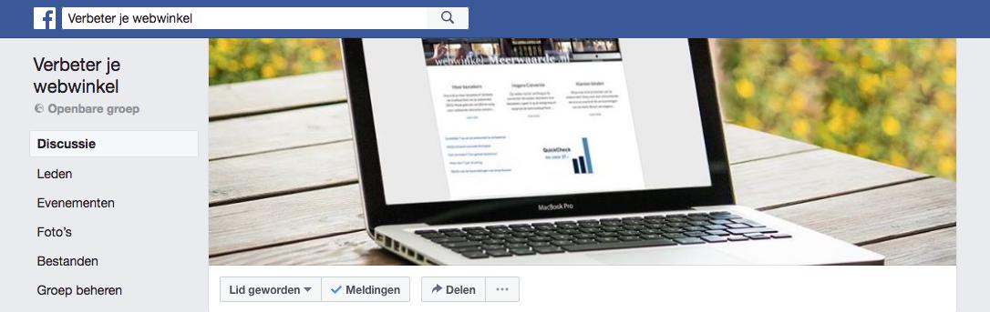 Verbeter je webwinkel met Facebook groepen